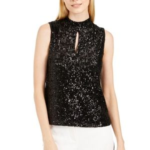 😽2/$50😽NWT Calvin Klein Sequin Top